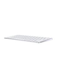Apple Magic Wireless English Keyboard, MLA22, Silver