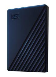 Western Digital 2TB HDD My Passport Mac External Portable Hard Drive, USB 3.0, WDBA2D0020BBL, Midnight Blue