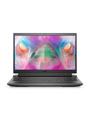 """DELL G15 5510 Gaming Laptop, 15.6"""" FHD 120Hz Display, Intel Core i5-10200H 10th Gen 2.40GHz, 256GB SSD, 8GB RAM, 4GB NVIDIA GeForce GTX 1650 Graphics, EN/AR KB, Ubuntu Linux, Dark Grey"""