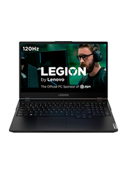 "Lenovo Legion 5 Gaming Laptop, 15.6"" FHD 120Hz Display, Intel Core i7-10750H 10th Gen 2.6GHz, 512GB SSD, 8GB RAM, 6GB NVIDIA GeForce GTX 1660Ti Graphics, EN KB, Win 10, 81Y6000DUS, Black"