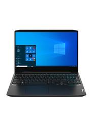 """Lenovo IdeaPad 3 Gaming Laptop, 15.6"""" FHD Display, AMD Ryzen 5 4600H 4.20GHz, 256GB SSD + 1TB HDD, 8GB RAM, NVIDIA GeForce GTX 1650, EN KB, Win 10, Nyx black"""