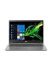 "Acer Aspire 3 A315-56-594W Laptop, 15.6"" FHD Display, Intel Core i5-1035G1 10th Gen 1GHz, 8GB RAM, 256GB SSD, Intel UHD Graphics, EN KB, Win10, NX.A0TAA.005, Steel Grey"
