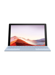 "Microsoft Surface Pro 7 Notebook Laptop, 12.3"" Touch Display, Intel Core i7-1035G4 10th Gen 3.9GHz, 512GB SSD, 16GB RAM, Intel Iris Plus Graphics, EN KB, Win 10 Pro, PVU-00001, Platinum Silver"