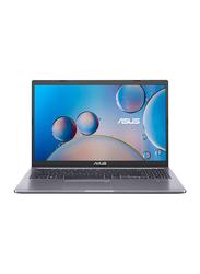 "Asus VivoBook Thin & Light Laptop, 15.6"" FHD Display, Intel Core i3-1005G1 10th Gen 1.2GHz, 128GB SSD, 4GB RAM, Intel UHD Graphics, EN KB with Fingerprint Reader, Win 10, Slate Grey"