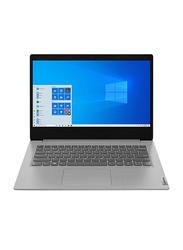 "Lenovo IdeaPad 3 Notebook Laptop, 14""FHD Display, Intel Core i7 10th Gen 1.8GHz, 512GB SSD, 8GB RAM, NVIDIA GeForce 2GB MX330 Graphics, EN KB, Win 10, 81WD00R6PB, Platinum Grey"