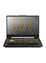 "Asus TUF Gaming F15 Laptop, 15.6"" FHD Display, Intel Core i7-10870H 10th Gen 2.20GHz, 512GB SSD, 16GB RAM, 6GB NVIDIA GeForce GTX 1660Ti Graphics, EN KB, Win 10, TUF506LU-US74, Fortress Grey"