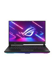 "Asus Rog Strix Scar G533QS Gaming Laptop, 15.6"" FHD 300Hz Display, AMD Ryzen 9 5900HX 3.3GHz, 2TB SSD, 32GB RAM, 16GB NVidia GeForce RTX 3080 Graphics, EN KB, Win 10, 90NR0551-M02710, Black"