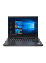 Lenovo ThinkPad E14 Business Laptop, 14-inch Full HD Display, Intel Core i7-10510U 10th Gen 1.80GHz, 1TB HDD, 8GB RAM, 2GB AMD Radeon Graphics, EN/AR KB with Bag, FreeDOS, 20RA007TAD, Black
