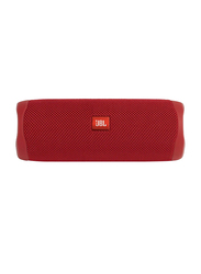 JBL Flip 5 Waterproof Portable Bluetooth Speaker, Red