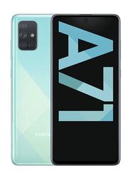 Samsung Galaxy A71 128GB Prism Crush Blue, 8GB RAM, 4G LTE, Dual Sim Smartphone, UAE Version