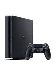 Sony PlayStation 4 Slim Console, 1TB with 1 Controller, Black