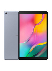 Samsung Galaxy Tab A 10.1 2019 32GB Silver 10.1-inch, Tablet, 2GB, Wi-Fi + 4G LTE, UAE Version