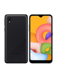 Samsung Galaxy A01 Core 16GB Black, 1GB RAM, 4G LTE, Dual Sim Smartphone