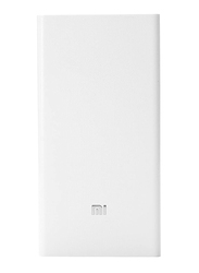 Xiaomi Redmi 20000mAh Portable Power Bank with Micro-USB Input and USB Cable, White
