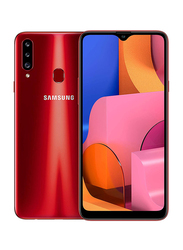 Samsung Galaxy A20s 32GB Red, 3GB RAM, 4G LTE, Dual Sim Smartphone, UAE Version