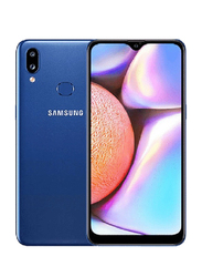 Samsung Galaxy A10s 32GB Blue, 2GB RAM, 4G LTE, Dual Sim Smartphone, UAE Version