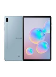 Samsung Galaxy Tab S6 (2019) 128GB Cloud Blue 10.5-Inch Tablet, 6GB RAM, Wi-Fi + 4G LTE, UAE Version