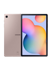Samsung Galaxy Tab S6 Lite 64GB Pink 10.4-Inch Tablet, 4GB RAM, Wi-Fi Only, with Pen, UAE Version