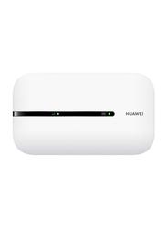 Huawei 4G Mobile Wi-Fi Router, 150 Mbps, E5576-320, White