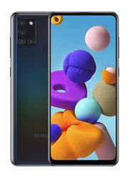 Samsung Galaxy A21s 64GB Black, 4GB RAM, 4G LTE, Dual Sim Smartphone, UAE Version