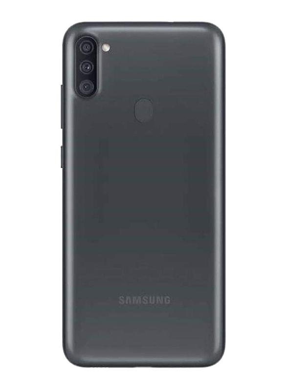 Samsung Galaxy A11 32GB Black, 2GB RAM, 4G LTE, Dual Sim Smartphone, UAE Version