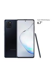 Samsung Galaxy Note 10 Lite 128GB Aura Black, 8GB RAM, 4G LTE, Dual Sim Smartphone, UAE Version