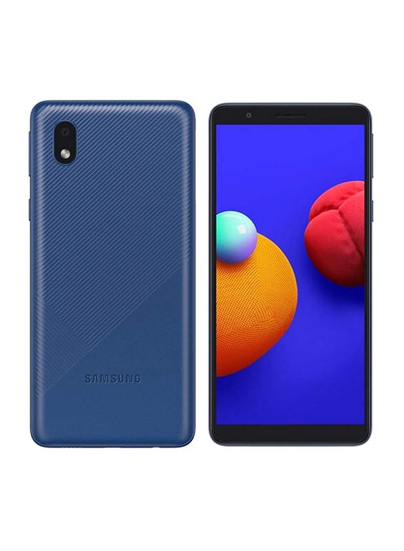 Samsung Galaxy A01 Core 16GB Blue, 1GB RAM, 4G LTE, Dual Sim Smartphone