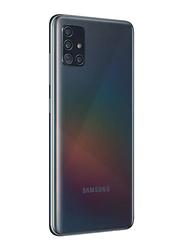 Samsung Galaxy A51 128GB Prism Crush Black, 6GB RAM, 4G LTE, Dual Sim Smartphone, UAE Version