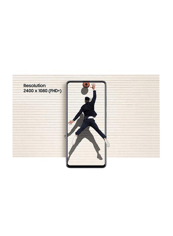 Samsung Galaxy A71 128GB Prism Crush Silver, 8GB RAM, 4G LTE, Dual Sim Smartphone, UAE Version