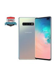 Samsung Galaxy S10 Plus 128GB Prism Silver, 8GB RAM, 4G LTE, Dual Sim Smartphone, UAE Version