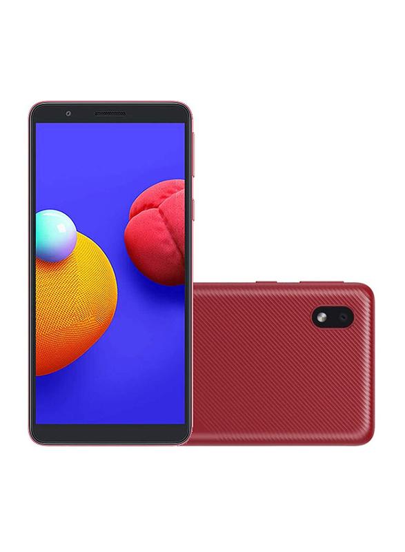 Samsung Galaxy A01 Core 16GB Red, 1GB RAM, 4G LTE, Dual Sim Smartphone