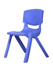 RBWTOYS Solid Plastic Chair for Kids Activities, RW-17109, 44cm, Blue
