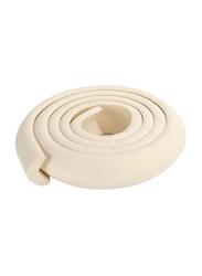 Rainbow Toys 2-Meter Rubber Foam Corner Protector Strip, White