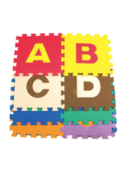 Rainbow Toys 26-Piece Alphabet Play Mat Puzzle, Multicolor