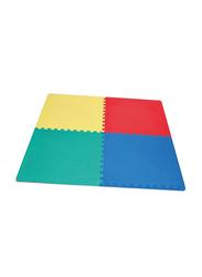 Rainbow Toys Interlocking Puzzle Mat Puzzle, Multicolor