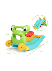 Rainbow Toys 2 In 1 Children Multifunction Rocking Ride On Chair with Slide Combination, Ages 2+