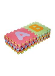 Rainbow Toys 26-Piece Soft EVA Foam Mat Set, Multicolor