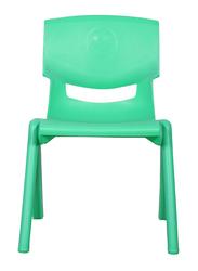 Rainbow Toys Plastic Kids Chair, 28cm, Green