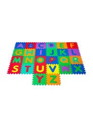 Rainbow Toys Alphabets Printed Play Mat, Multicolor