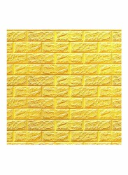 Rainbow Toys 3D Wall Safety Home Decor Wallpaper Sticker, 70 x 77cm, Yellow
