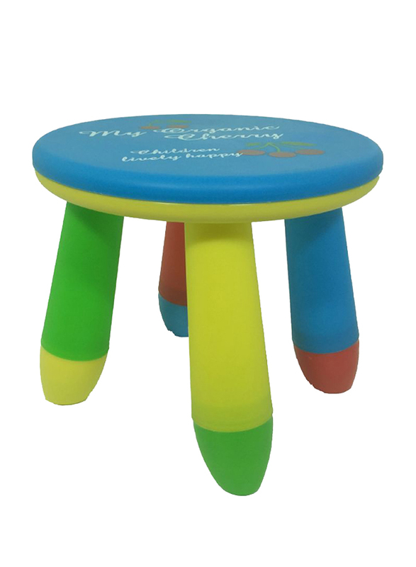 Rainbow Toys Plastic Stool, 29 x 25 x 27cm, Multicolor