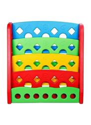 Rainbow Toys Multi Books Shelve, Red/Yellow/Green/Blue