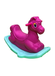 Rainbow Toys Rocking Horse Seesaw, Purple, 68 x 30 x 43cm, Ages 3+
