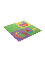 Rainbow Toys 8 Piece Animal Puzzle Floor Mat Set, Ages Upto 12 Months, Multicolor
