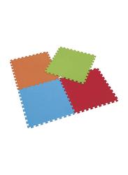 Rainbow Toys 4 Piece Puzzle Foam Mat Set, Ages Upto 12 Months, Multicolor