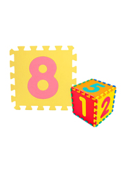 Rainbow Toys Numbers Printed Puzzle Floor Mat, Multicolor