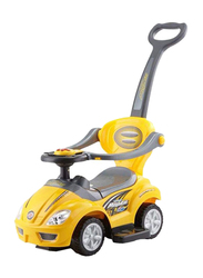 Rainbow Toys My Little Sunshine Push Car Ride On, Yellow, Ages 3+