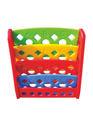 RBWTOYS Premium Quality Plastic Shelf, Racks and Organiser for Kids Stuffs, RW-16622, Ages 2+, Multicolour