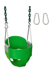 Rainbow Toys Toddler Swing Seat Complete Set, Green, Ages 3+