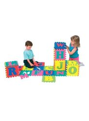 Rainbow Toys 26-Piece Alphabet Puzzle Mat Set, Multicolor